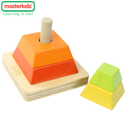 Cs (특가)마스터키즈 뉴 피라미드 쌓기블럭