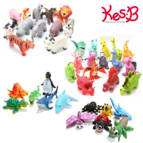 Cs (캐스B)플레이 소프트사파리38종세트(1556set)→(소프트공룡+소프트동물+소프트해양+큐티곤충)