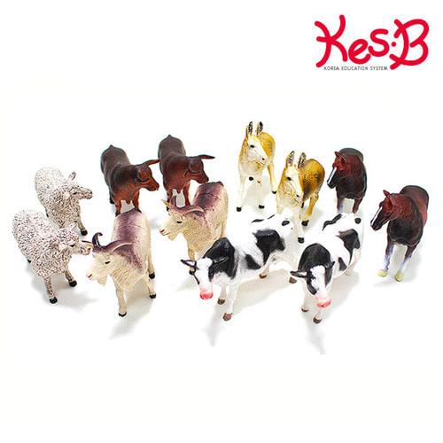 Cs (캐스B)네이처 애니멀킹덤 농장동물12pcs(1545)