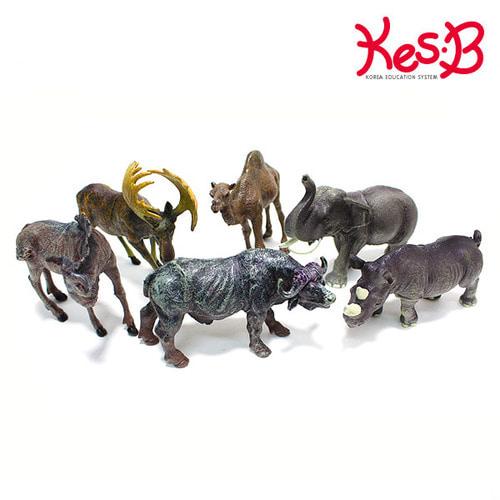Cs (캐스B)네이처 애니멀킹덤 야생동물6pcs(1544)