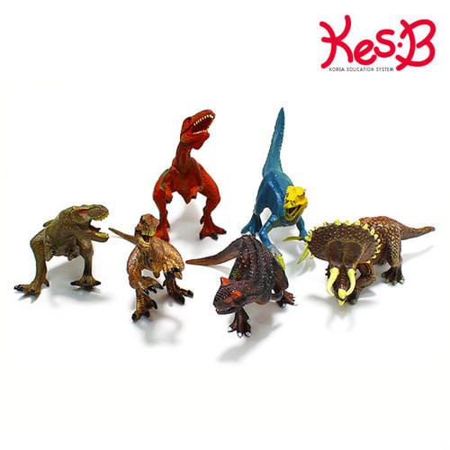Cs (캐스B)네이처 애니멀킹덤 공룡6pcs(1546)