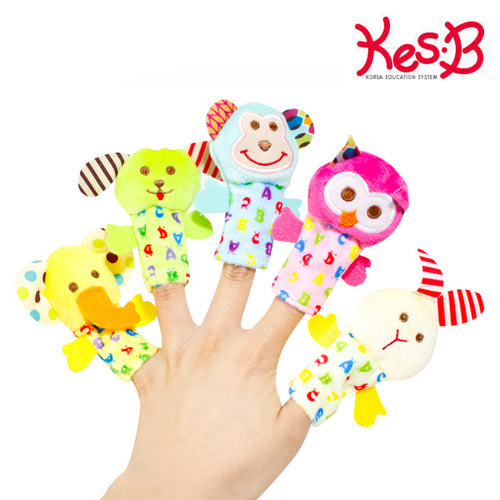 Cs (캐스B)플레이 손가락인형 부엉이와친구들