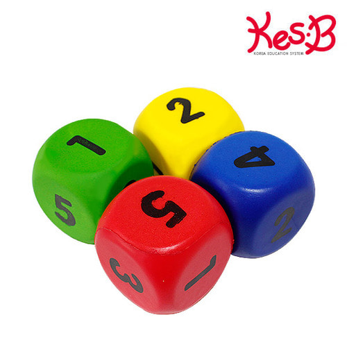 Cs (캐스B) 스포츠 주사위 4pcs