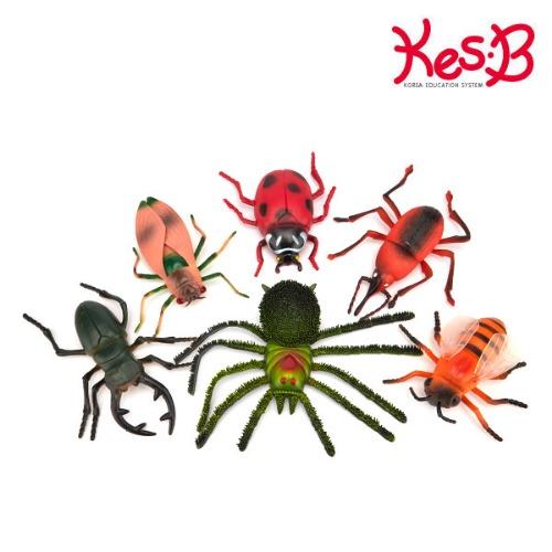 Cs (캐스B)네이처 소프트점보곤충6종(1523)