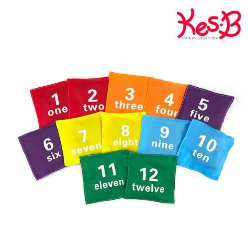 Cs (캐스B)스포츠 숫자콩주머니12개set(1454)