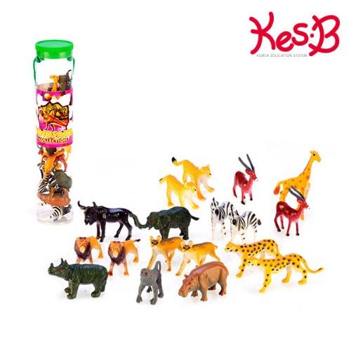 Cs (특가)TM사파리튜브 (소)-정글동물(5391B)