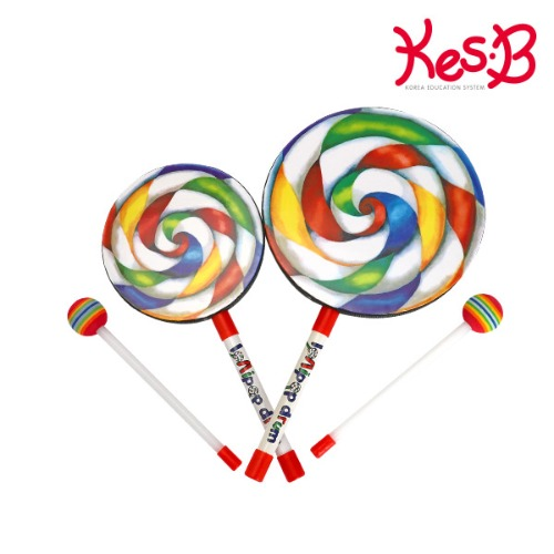 Cs (캐스B)맑은소리 롤리팝드럼(중/대)