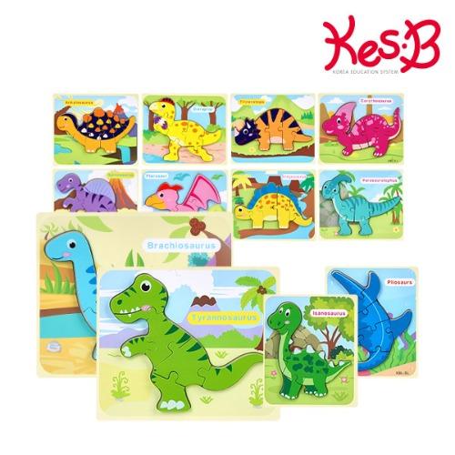 Cs (캐스B)튼튼 공룡퍼즐12종(2113set)