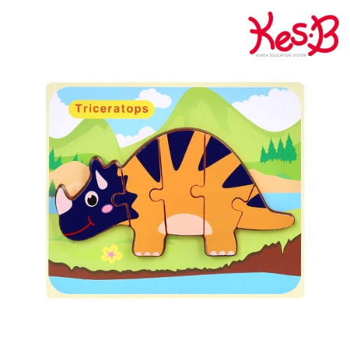 Cs (캐스B)튼튼 공룡퍼즐트리케라톱스(2117)