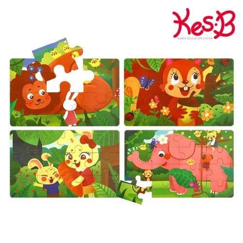 Cs (캐스B)튼튼 4스텝직소퍼즐숲속(2184)